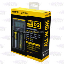 nitecore D2 Digital Dual bay battery charger, Wholesale Battery Intelligent battery D2 charger