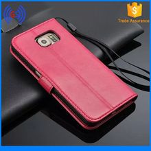 Hot! Fancy Fashion Clear ID Hole PU Leather Case for galaxy gio s5660