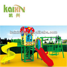 Children Style Used Outdoor Plastic Backyard Playsets
