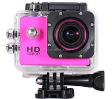 Newest 1080P Full HD Waterproof 30M professional camera 1.3MP Sport DV Go Pro Style Cam Action Sport Camera Helmet