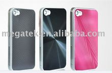 Cell phone accessory phone case cd veins pc Alumibum hard case for iphone 4 4s, for iphone 4 case aluminum 4s 5s