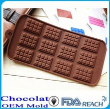 MFG Various shape silicone chocolate molds danni chocolate models