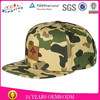 Custom camo fitted hats and snapback caps