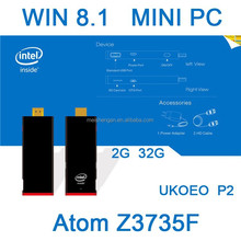 high quality activated win8.1 Intel Atom Z3735F window smart usb micracast tv dongle