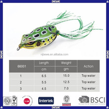 promotional colorful plastic fishing frog