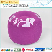Inflatable Flocked Seat Cushion for Advertising