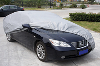 100% waterproof and practical car cover PEVA and non-woven, FW, 13403