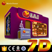 7D High definition movies 7d dynamic cinema equipment used 7d sell