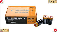 Shenzhen R20 D AAA and AA BATTERY 1.5V battery PVC