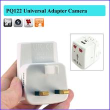 Mini camcorder audio video recorder USA UK AC charger type spy hidden camera