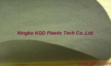 waterproof tear resistant PVC coated polyester taslon fabric elastic tarp for raincoat