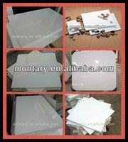 white nano crystal artificial stone cutting tile