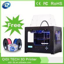 Extruder Printer 3D,3D printing dual extruder abs/pla,high accuracy 3d printer