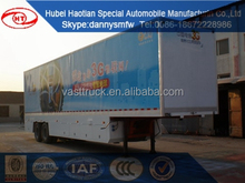 advertising van truck semi mobile stage truck body