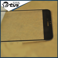 Hot selling good quality ultra thin tempered glass screen protector with silicone covered edge