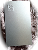 bright silver powder coating