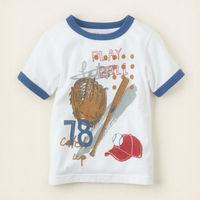 Wholesale children's boutique clothing short sleeve t-shirt goods for kids