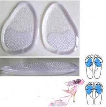 Soft Medical Grade Gel Insole For Shoes,non slip