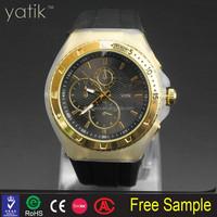 New listing limited liability company techno brand marine design plastic glass silicone wristwatch