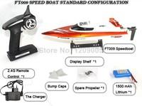 Новый пульт дистанционного управления лодки feilun ft009 ft007 повышен 2.4g удаленного управления игрушки 4ch водяного охлаждения высокая скорость rc лодки