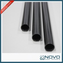Hollow round 22x20x380mm carbon fiber tube bar