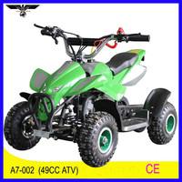 China manufacturer CE cheap mini 49cc quads for sale (A7-002)
