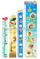 Colorful Kids measure growth chart,can be used as promotion gift