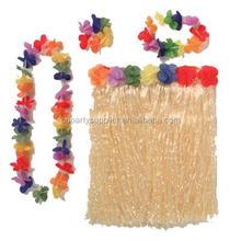Hawaiian Fancy Dress Hula Grass Skirt