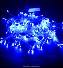 decoration LED blue light for Christmas