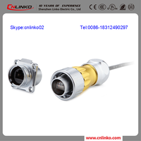CE,ROHS outdoor rj45 metal connector RJ45 port 8 poe Connector rj45 industrial connector For Pump Controller