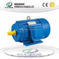 GPHQ wholesale Y cast iron body 100% copper wire and output power electric motor 50kw