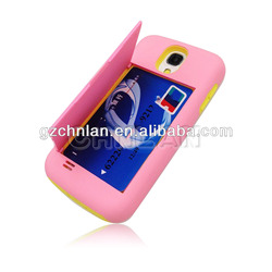 2013 Stylish credit card holder case for samsung galaxy s3 cases with card holder