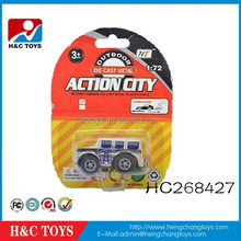 Wholesale 1:72 diecast model pull back alloy car toy HC268427