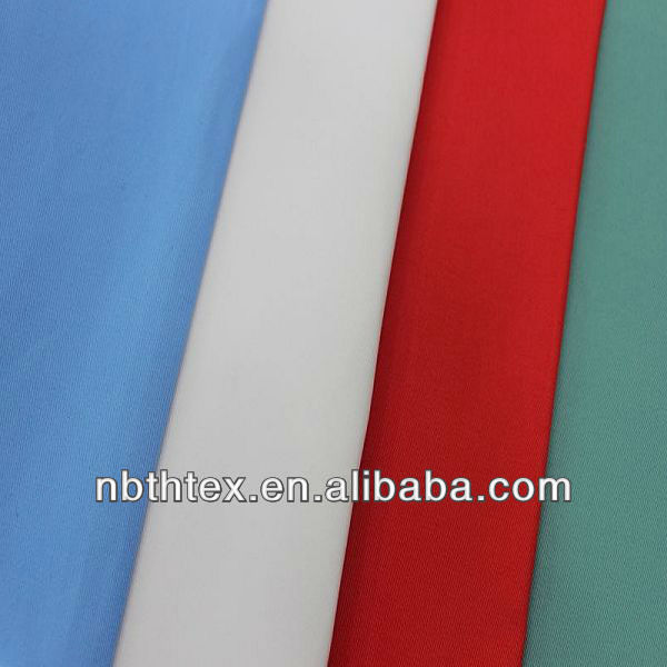 32sx21s solid dyed 100% cotton twill fabric