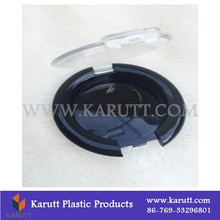 custom plastic makeup foundation container for personal care with cover
