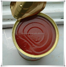 28-30% canned tomato paste 850g with easy open or normal open lid