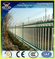 Modern White european ornamental Wrought Iron Fence design