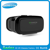 Shinecon gives you a new different life!High quality vr 3d glasses box clip on active 3d glasses chromadepth 3d glasses