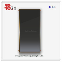 Black chrome flat plate solar thermal collector(panel)