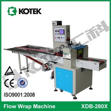 Inverse Pillow Pouch Pack Horizontal Flow Packaging Equipment Automatic Confectionery Packing Machine