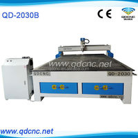 wood cnc router kit /wood cnc machine price /3d wood carving machine QD-2030 wood cnc router machine