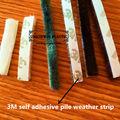 Auto adhésif colle 3m pile bande, bande d'étanchéité à la poussière, laine pile météo bande