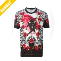 FTS5021 2015 100% Polyester Sublimation 3D Stock Lots T Shirt