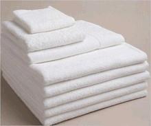 Hot Sale 21 woven bonded thin wihte Cotton hotel bath towel