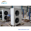 compressor unit with air cooled condenser