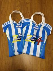 2015 best sell football Jersey non woven shopping bag