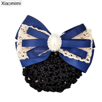 Fashion hair net airline stewardess Hair rope headdress hair ornaments