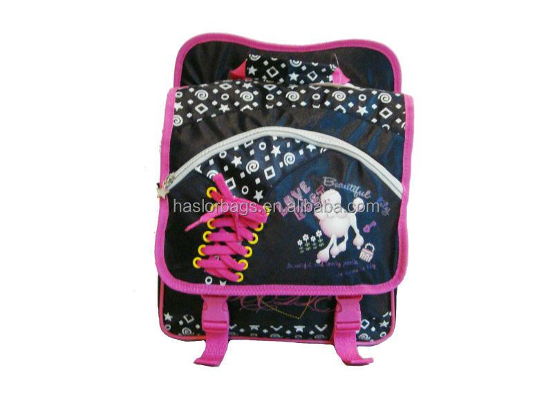 Mode Polyester de haute qualité Unique sac à dos, Sac à dos école pour filles