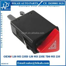 OEM# 1J0 953 235D 1J0 953 235E 7D0 953 235 FOR VW POLO Hazard Warning Light Switch