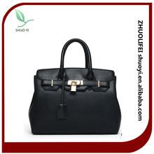 wholesale lady fancy trend genuine tote leather handbags